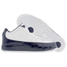 Check out this product MEN NIKE AIR JORDAN FORCE 9 AJF9 LOW LS (WHITE / MIDNIGHT NAVY) SHOES Air Force Jordans, Air Max Sneakers, Sneakers Nike, Navy Shoes, Nike Men, Nike Air Max, Club, Check, Nike Tennis