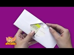 Origami - Make a Wallet the Easy Way - YouTube