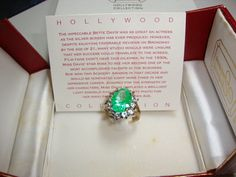 Bette Davis Hollywood Collection Ring Hollywood Regency Movie