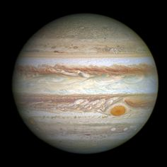 Jupiter's Great Red Spot is hotter than the hottest lava on Earth reaching temperatures of at least 2400 degrees F.