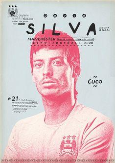 Welcome to Manchester's poster boys! plus Maradona, Pele, Messi, Ronaldo and Soccer Poster, Poster Boys, Surface Design, A4 Poster, Football Design, Sports Graphics, Art Graphique, Magazine Design, Graphic Design Inspiration