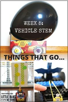 Building Vehicle STEM Activities Things That Go