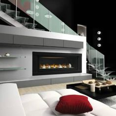 Napoleon LHD50 Linear Gas Fireplace Direct Vent Fireplaces