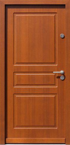 Drewniane wejściowe drzwi zewnętrzne do domu z katalogu modeli klasycznych wzór 533,4