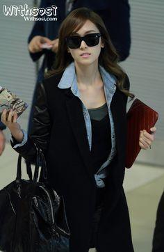 소녀시대 제시카 ,kpop,snsd,sm,fashion,공항패션,sunglass