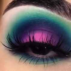 Edgy Makeup, Makeup Eye Looks, Eye Makeup Steps, Eye Makeup Art, Smokey Eye Makeup, Eyeshadow Looks, Makeup Brush Set, Eyeshadow Makeup, Mermaid Eye Makeup