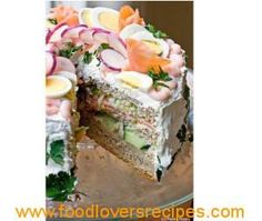 Healthy No Regrets Cake-savoury cake