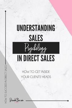 Looking to make more sales? It starts by understanding who your ideal client is and, more importantly, how your ideal client thinks. Read up on the psychology involved in direct sales and what it means for your small business. Don't forget to repin this for later!!