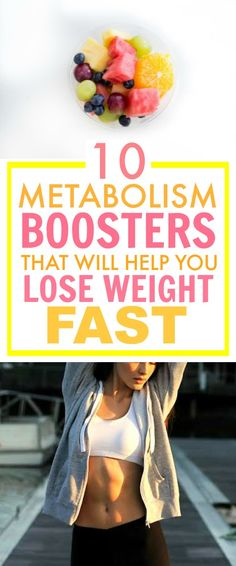 These 10 metabolism boosters are THE BEST! I'm so glad I found this AMAZING post! I've already tried a couple of them and they REALLY DO help me lose weight! Definitely pinning for later!