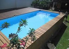 pool ideas intex for your recreational times - Intex Above Ground Pool Decks