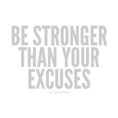 Be stronger!