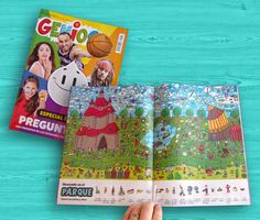Ilustrador Alexiev Gandman: Buscando en el Parque - Revista Genios 917
