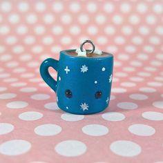 #kawaii #charms #polymer #clay #hot #cocoa #mug