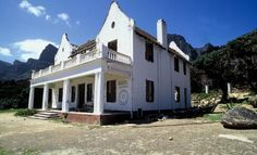 The old farmhouse now The Twelve Apostles Hotel Cape Town Cape Dutch, Interior Architecture, Interior Design, Cape Town, South Africa, Farmhouse, Mansions, History, House Styles
