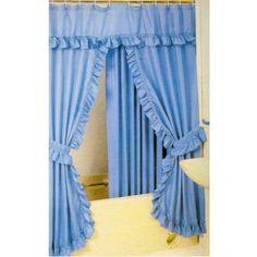 nuevo Beige//Azul Estampado Tela De Cortina Conservatorio muebles manteles