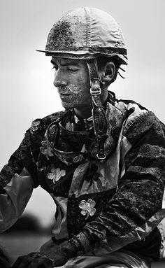 Jokey by Michael Hrizuk Bw Photography, Photography Illustration, Conceptual Photography, Photography Gallery, Monochrome Photography, Vintage Photography, Black White Photos, Black And White, Great Photographers