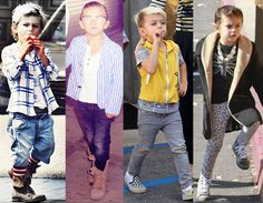 Kingston Rossdale...pretty sure this is where my little mans style inspiration will come from.