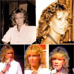 """Today in 1983 Agnetha was in the UK promoting her single """"Can't Shake Loose"""" #Abba #Agnetha http://abbafansblog.blogspot.co.uk/2016/09/abba-date-30th-september-1983.html"""