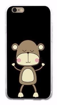 Cartoon Monkey Phone Case for iPhones, Samsung, Redmi, and Huawei – SaviCat