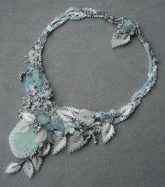 freeform necklace by medvedice