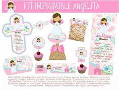 Kit Imprimible Primera Comunion Confirmacion Niña Fdp - $ 90.00