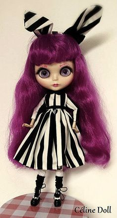 Custom blythe doll by Le-petit-monde-de-doll