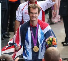 A journey that began with Andy Murray taking delivery of the torch the week before the Olympics and joyously running with it through the Wimbledon grounds came to a perfect end on Sunday. Jamie Murray, Andy Murray, British Sports, Sports Personality, Roger Federer, Wimbledon, Olympics, Scotland, Champion