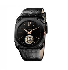 Bulgari Octo Finissimo Tourbillon, the world record-holder as the thinnest tourbillon of all time at only 1.95 mm in height