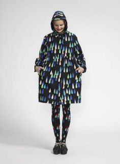 VESIKKO raincoat - Marimekko clothes fall 2013