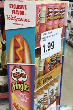 Walgreens Is Selling Hot Dog Flavored Pringles For Some Reason