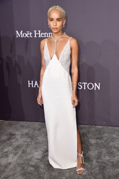 Solange Knowles, Zoe Kravitz, and More are Best Dressed This Week: From a white gown to a red puffy sleeping-bag thingie, these women are our best dressed picks. -- Zoë Kravitz in a slinky white gown with beaded sandals. | Coveteur.com