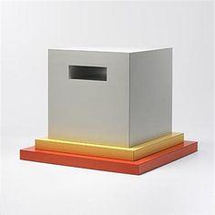 Ettore Sottsass occasional table Memphis Mila, 1988 http://store.memphis-milano.com/furniture/memphis-milano/ettore-sottsass/cream-0
