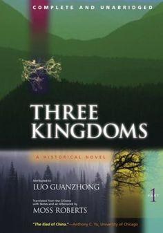 Three Kingdoms: A Historical Novel, Part 1 by Luo Guanzhong http://www.amazon.com/dp/0520224787/ref=cm_sw_r_pi_dp_dbYPub1CYK5ES