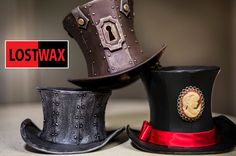 How To Make A Mini Top Hat! Mini Top Hat Pattern and Steampunk DIY instr...