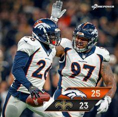 Broncos win over NO Saints