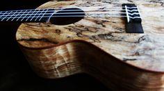 #kala #ukulele.. This spalted maple tenor uke is gorgeous!