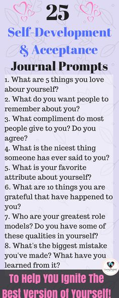 25 Self-Development & Acceptance Journal Prompts. Ignite the best version of yourself! Self-care, Self-reflection, Journaling, Self love. love journal 25 Journal Prompts For Self-Development & Acceptance Journal Questions, Vie Motivation, Love Journal, Journal Writing Prompts, Bullet Journal Prompts, Journal Format, Self Care Bullet Journal, Journal Entries, Self Discovery