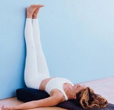 EVERY woman should do this pose for at least 15 mins a day! The benefits are endless, such a simple yet powerfully restorative pose!! Especially if you are faced with stress, anxiety, or just general being run down... It gets all your adrenal glands pumping, stimulates bloody low to vital organs, ovaries, digestion, bladder, it re grounds and re energises, not to mention lymphatic boosting which helps a wide range of health problems in itself.