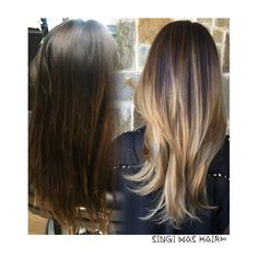 asian hair balayage ombre
