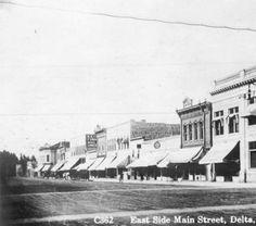 East side Main Street, Delta, Colo. :: History Colorado (c.1920-1930)