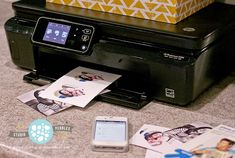 Printing photos directly from your smartphone to your HP printer (HP Photosmart 5520) using the HP ePrint app   #BTS4MOM http://blog.studiopebbles.com