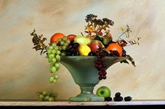 still life bowl of fruit to paint - Google Search