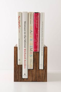 Love love love how this makes all uneven things, even again. Vintage Books Boxed Set, Fashion - Anthropologie.com
