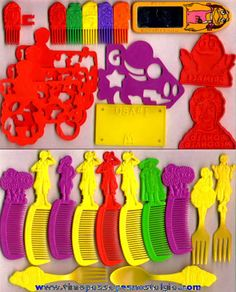 1980s McDonald's Happy Meal Toys...just found that little mirror in the upper right corner this past weekend!  I loved mine and am so glad I found it!