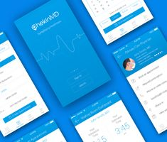 Vedi questo progetto @Behance: \u201cHealthcare/Medical Appointment App\u201d https://www.behance.net/gallery/26699581/HealthcareMedical-Appointment-App
