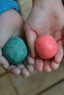 Make your own bouncy balls - on the to do list tonight.