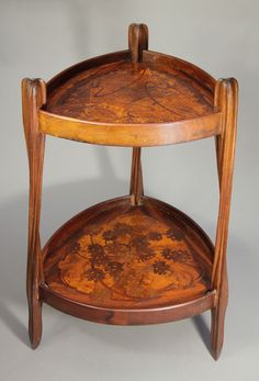 Table d'ombelles by Louis Majorelle. Model first shown at the world exhibition in Paris in 1900.