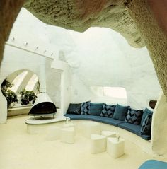Cave Room. Interiors for Today, Franco Magnani ©1974