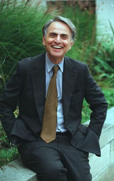 Carl Sagan...one of the greatest men of all time