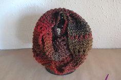 #Cuello ref. Cupla041. Tejido a mano, en lana mezcla: acrílico 50%, lana 48%y 2% poliamida. Tuyo en www.eltallerdenoa.com #scarf #muffler #Knitting #puntodemedia #wool